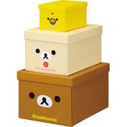 轻松小熊收纳盒